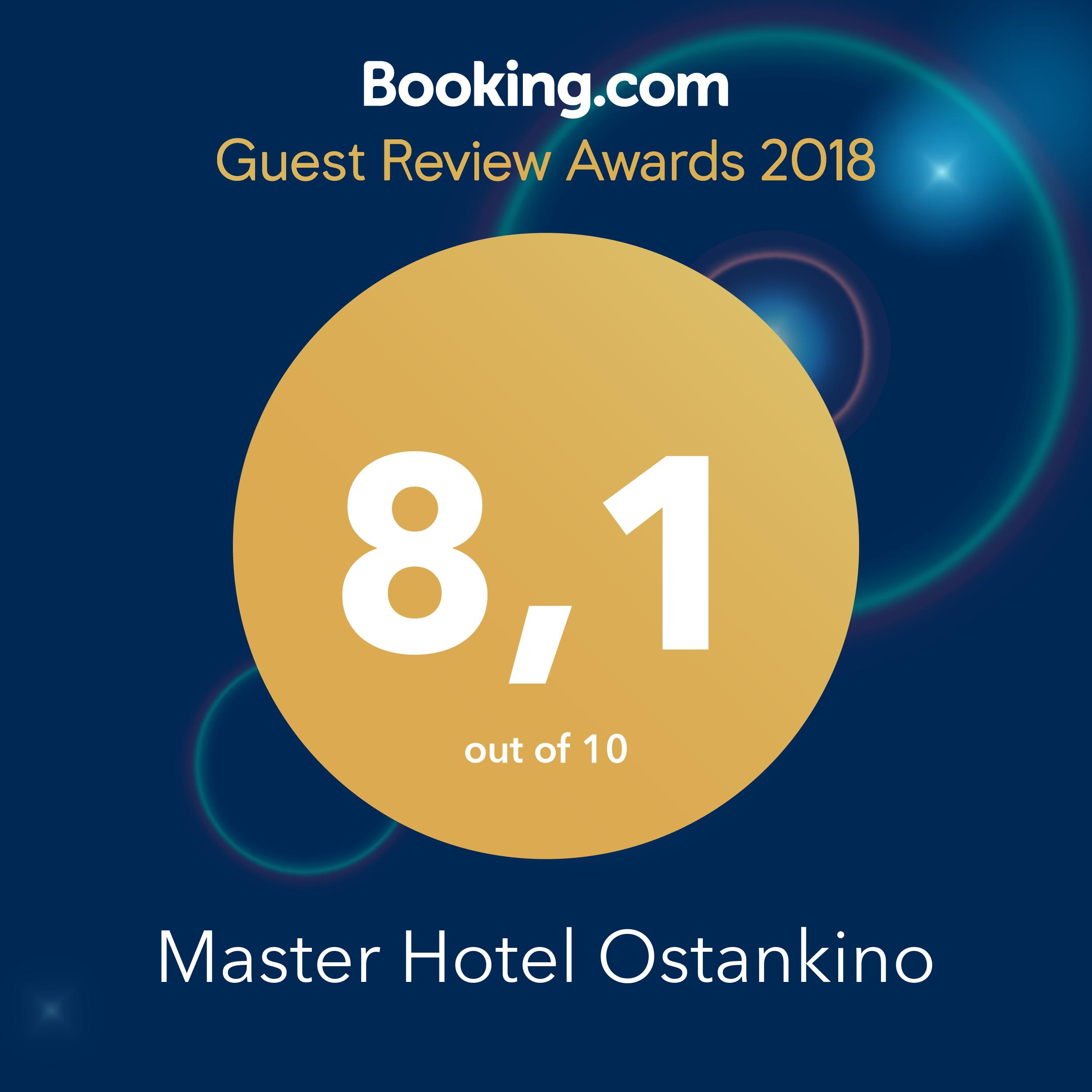 Оценка от Booking